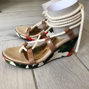 Milly for Sperry Top Sider Southport Ghillie Wedge